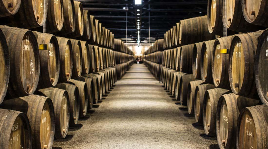 Pipas de Vinho em Adega Douro da Symington
