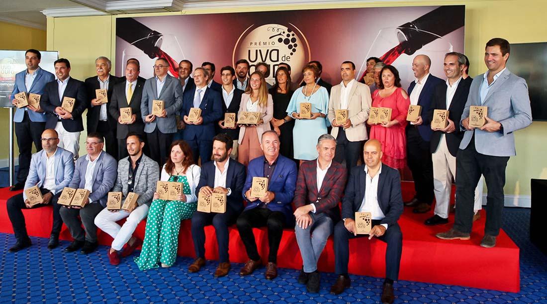 Premiados Gala final Uva de Ouro 2019