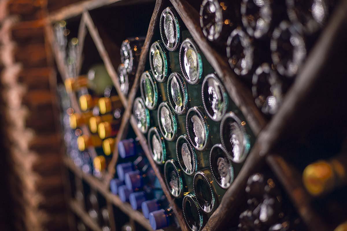 Armazenamento Vinho no tempo frio