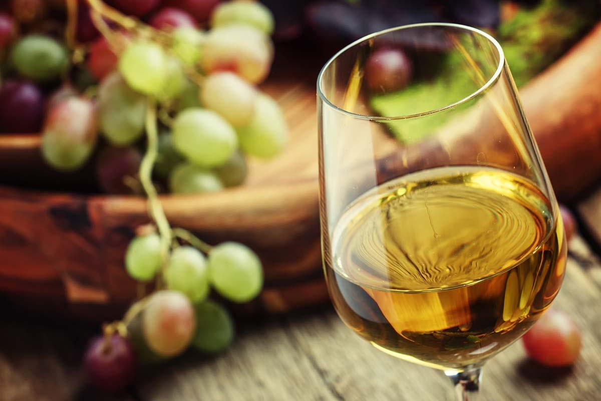 Copo de vinho Moscatel