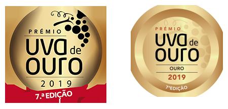 Medalha de Ouro Concurso Vinhos Uva de Ouro