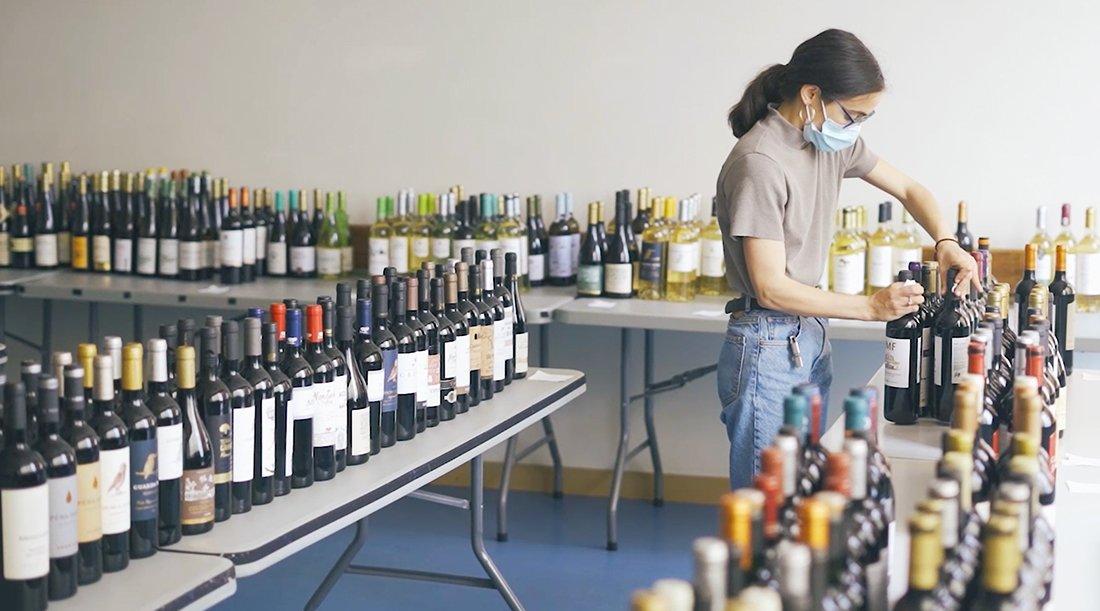 Lista de Vinhos a Concurso